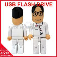 Cheap gift surgeon usb flash drive, memory stick 4gb 8gb