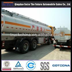 CNHTC CHINA SINOTRUK HOWO capacity fuel tank truck