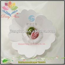 Custom wedding favors silk flowers