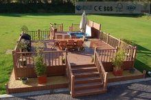 Eco-friendly Wood Plastic Composite With CE,SGS&FSC certificate