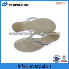 ladies fancy clear pvc jelly sandals