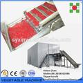 Frutas de iqf freezer máquina/vegetais congelados máquina/morango/blueberry/cereja máquina de processamento de/linha