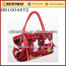 Ladies bags guangzhou bolsas leather bags stock