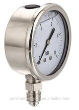 World widely used oil pressure gauge bar