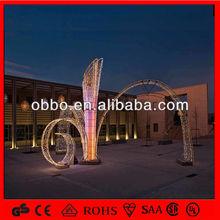5m/8m/m/12m/15m/30m giant 3D outdoor christmas tree lights