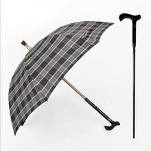 Detachable old man walking stick umbrella/gift umbrella/advertising umbrella/Straight umbrella/Logo print,OEM service