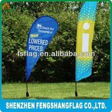 High Quality Advertising Beach Flag Flying Banner