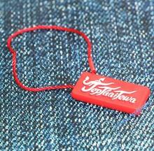 plastic seal tag custom jewelry plastic seal tag
