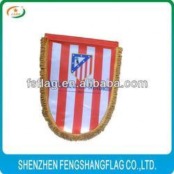 heat transfer printing soccer pennants football club pennant