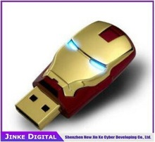 Newest top quality star war usb pen drive hammer thor hulk captain America iron man USB flash drive