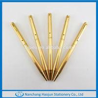 Fashion Slim Gold Promotional Ball Pen