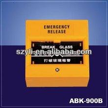Break Glass Fire Emergency Exit Door Release Button