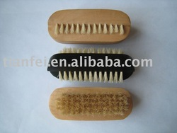 Cactus Bristle Wooden Bath Brush