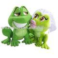 Prenses ve kurbağa Sihirli öpücük peluş bebek hediye
