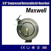 "3/8"" compressed retractable air hose reel"