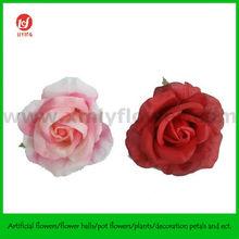 9CM Wedding Decoration Car Flowers of Silk Rose Head