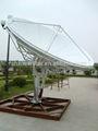 3.7 medidor de terra vsat antena da estação