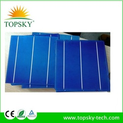 2015 hot sale high efficiency 156mmx156mm 6inch,2BB/3BB polycrystalline/multi solar cells,mono solar cell,made in Taiwan/Germany
