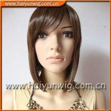 Women short wigs body wave human full lace wigs