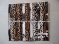 Cabra couro tapete novo design do couro/tapete de cabelo no couro