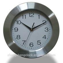 12 inches metal wall clock decorative wall clock good quality factoyr China