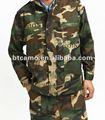 80% de poliéster, 20% de algodón ropa de camuflaje militar