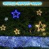holiday lighting outdoor christmas led star motif light