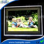 led lighted photo frame, lighting photo frame,frameless picture frames