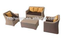 cheap outdoor rattan/wicker furniture 2013 AWS00157