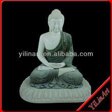 2015 Hot Sale Marble Sitting Buddha Statue (YL -J057)