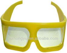 Cheap Promotional Thin Lenses Plastic Polarized Film 3D glasse for Theater