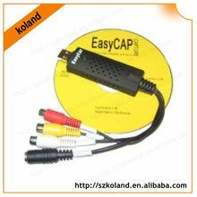 Easycap USB 2.0 TV DVD VHS Video Audio AV Capture cable