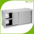 Comercial aço inoxidável armário de cozinha/açoinoxidável gabinete/armário de parede