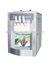 desktop ice cream shake machine with three flavors