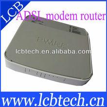 New arrival 500MW High Power 802.11G 54M mini ADSL2+ wifi Modem Wireless Router