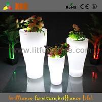 2015 new LED Flower Pot,garden lighting led flower pot,lighted planter pot