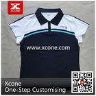 Custom Casual promotional Tshirt ladies' polo t-shirt