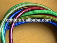 SAE J1401 standard colored motorcycle stainless steel braided brake hose