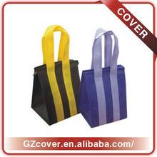 Mini zipper promo shopping bag