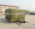 logística militar de bloque de equipo plegable carpa remolque militar de campo cuartel del ejército de campo barack