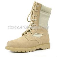Tan Color Combat Boot