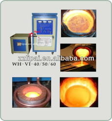 Henan China induction copper scrap/silver/gold melting furnace