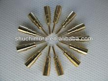 Machined Beryllium Copper Pins for Feedthrough