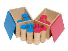 Montessori material Sound Boxes