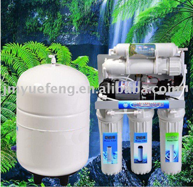 تصفية مياه الشرب للاستخدام المنزلي