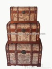 2014 hot sell antique storage trunks