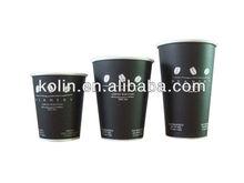 FDA and EU certified eco-friendly custom printed paper coffee cups