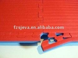 Reversible EVA taekwondo floor mat
