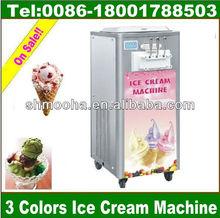 soft ice cream/gelato machine/3 flavor(CE ,MANUFACTURER LOW PRICE)