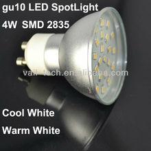 Venta al por mayor LED gu10 llevó el proyector Edison 2835 SMD LED poder más elevado llevó la luz del punto gu10 llevó las luces del punto gu10 LED bombillas gu10 LED gu10
